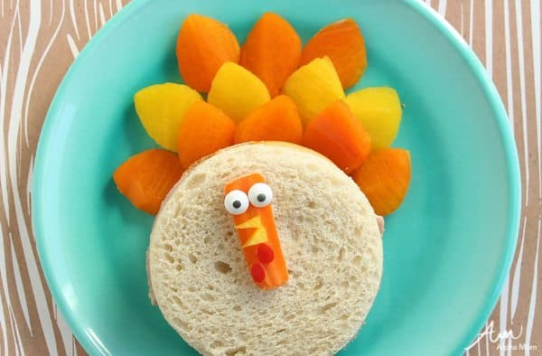 Turkey Sandwich Food Craft for Thanksgiving