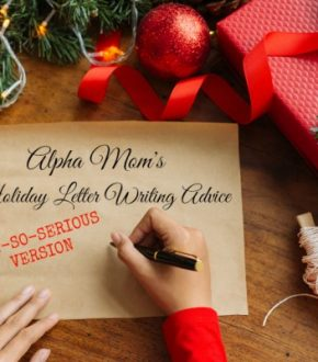 Holiday Letter Writing Advice (the Not-So-Serious Version)