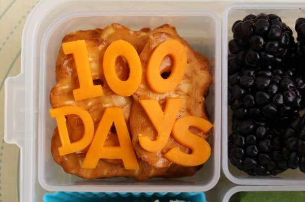 A Special Lunch for the 100th Day of School