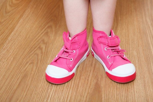 Little Boys in Pink Shoes