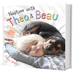 Naptime with Theo & Beau Book by Jessica Shyba