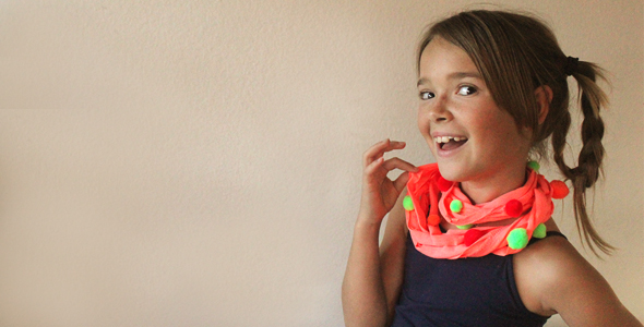 T-shirt Scarf Craft for Kids!