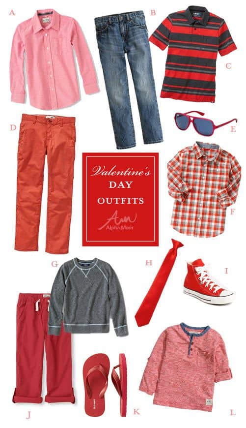 Valentine's Day clothes for kids