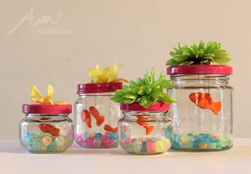 Norooz (aka Nowruz) Persian New Year (Spring Celebration) Goldfish Craft  by Brenda Ponnay for Alphamom.com
