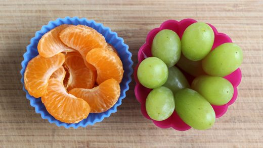Four Flowery Ideas for Kids' Lunches - Fruit Cups by Wendy Copley for Alphamom.com