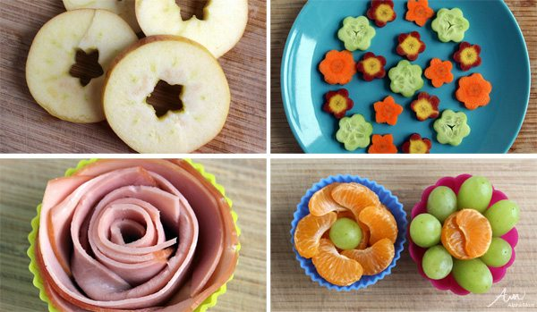 4 Flowery Ideas for Kids' Lunches