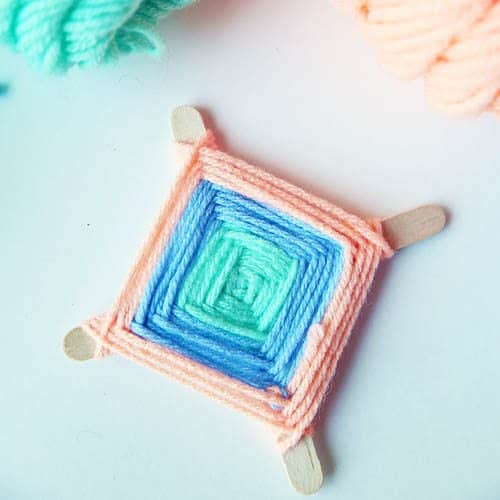 God's Eye Weaving Craft Tutorial by Cindy Hopper for Alphamom.com