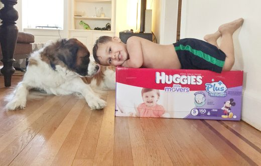 Father's Day and Special Bonding Memories with Huggies Little Movers Plus Diapers