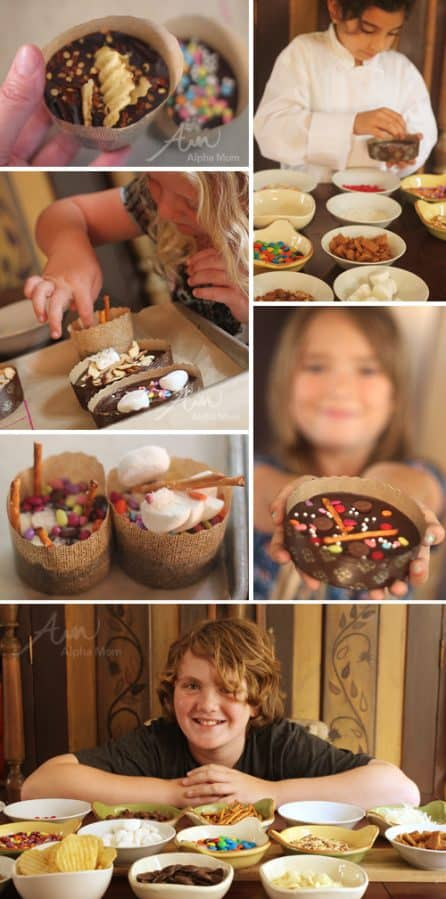Father's Day Brownies for Awesome Dads by Brenda Ponnay for Alphamom.com #FathersDayParty