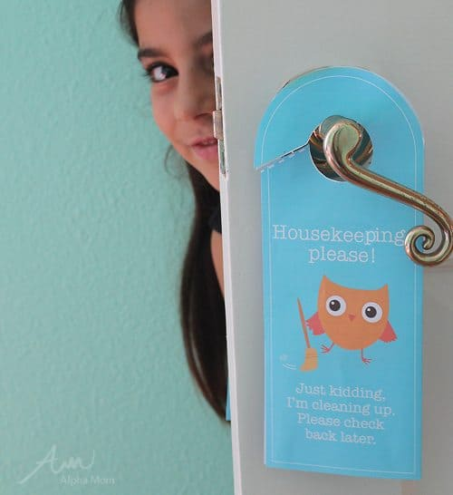Fun Back-To-School Door Hanger Printables! | Alpha Mom