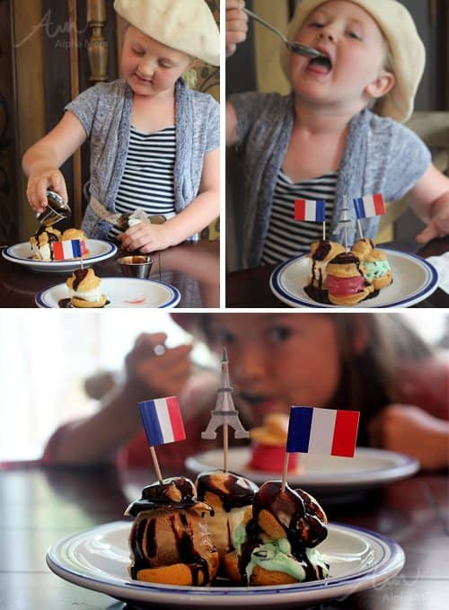 Yummy Profiteroles for Bastille Day Celebration by Brenda Ponnay for Alphamom.com
