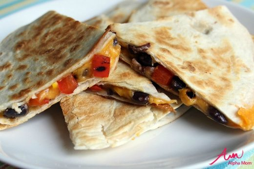 Quesadillas & 2 More Easy Post-Pool Dinners for Hot Summer Evenings by Wendy Copley for Alphamom.com