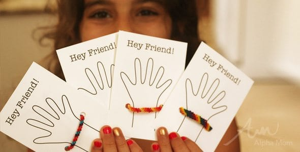 Back-To-School Friendship Bracelet Cards