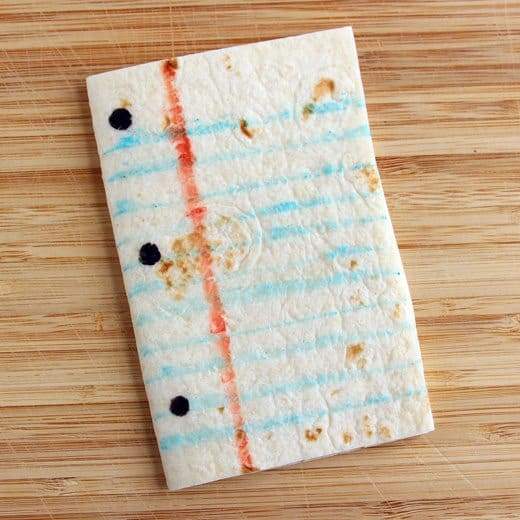 Fun Paper and Pencil Snack (recipe: step 3) for Back-to-School by Wendy Copley for Alphamom.com