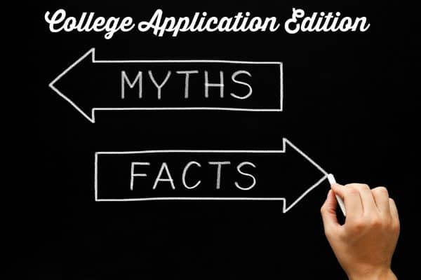 Busting College Application Myths
