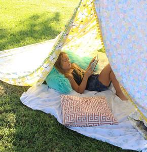 Super Simple DIY Reading Tent