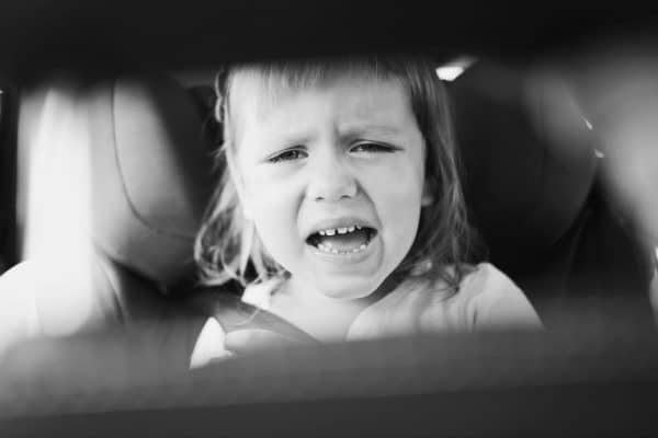 On the Road Again: Toddler Tantrums in the Car
