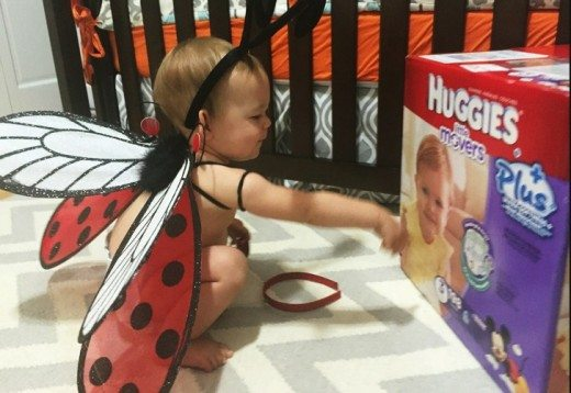 Halloween is Not Just One Night of Fun for Toddlers (thanks to our sponsor, Huggies!)