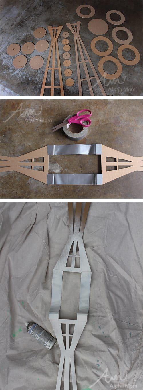 The Space Needle (DIY Costume Tutoria) by Brenda Ponnay for Alphamom.com