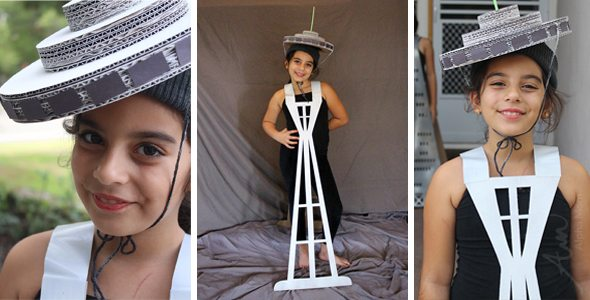 the space needle costume tutorial famous us buildings kids halloween costume series by
