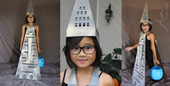 The Transamerica Pyramid (Famous U.S. Buildings Halloween Costume Series)