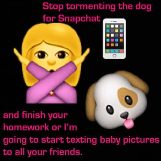 dog-snapchat