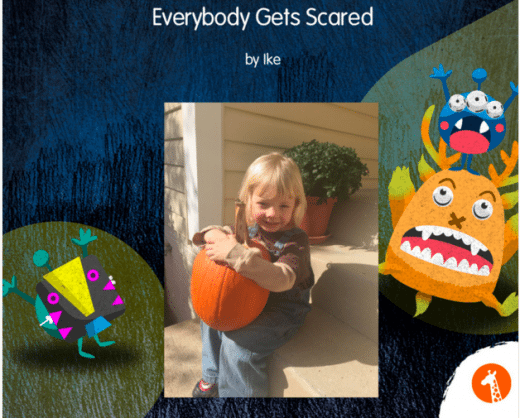 Everybody Gets Scared Book by Amalah (Book Cover)
