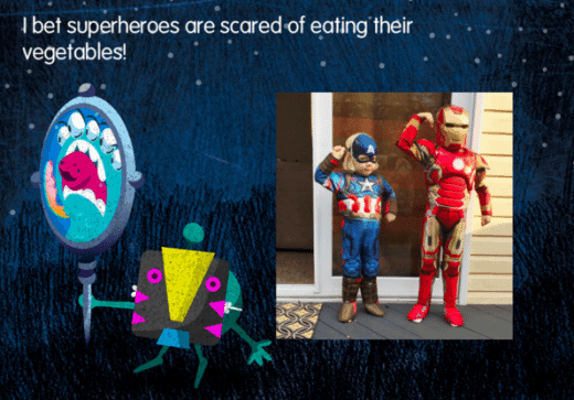 Everybody Gets Scared Book by Amalah (superheroes!)