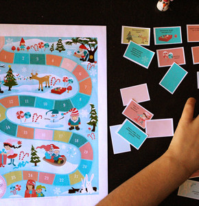 Advent Calendar Printable Game