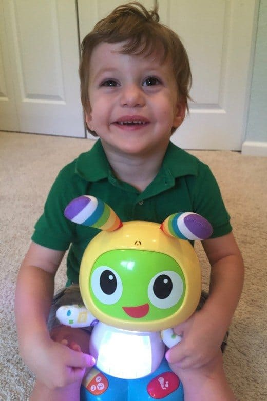Bright Beats Dance & Move BeatBo Review: This is a cute interactive toy for a toddler. If you can find it for an affordable price, it could be a winner this holiday season.