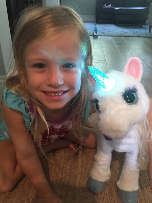 StarLily My Magical Unicorn Review: We really think this is a sweet, magical toy. Our only reservation is the price.