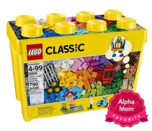 "Legos: every one loves Legos. Because of the small pieces, regular Legos are not recommended for young ones. But, there's a line called Duplo where the pieces are bigger and therefore safer for the younger set. On On Alpha Mom's ""Forever Hit Toys"" List for the Holidays."