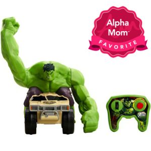 Marvel Hulk Smash Remote Control Toy Vehicle: For around $50, I think it's worth buying for the kids who likes to smash and crash. It's going to be a big hit this holiday season. See why we think so and read our full review here.