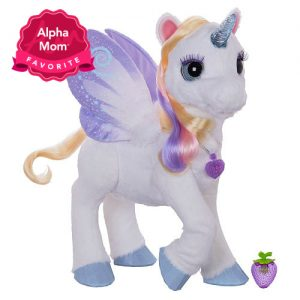StarLily My Magical Unicorn: We really think this is a sweet, magical toy. Our only reservation is the price. Read the full review here.