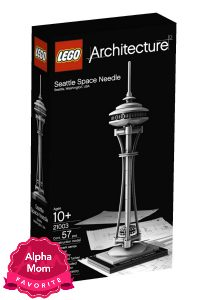 "Lego Architecture Play Sets are great for play and also as a keepsake. Perfect for the older Lego aficionado. On Alpha Mom's ""Forever"" Hit Toys List (aka Toys with Staying Power)."