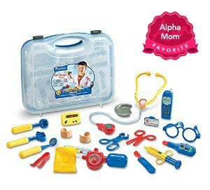 "Pretend & Play Doctor's Kit: Fantastically simple toy. Your kids will love being the doctor, nurse or patient. On Alpha Mom's ""Forever Hit Toys"" List for the Holidays."