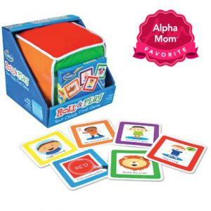 "Roll & Play Board Game: This ""first board game"" has received an outstanding reviews from us and readers as well. It's perfect for toddlers and young preschoolers, aged 2+. On Alpha Mom's ""Forever Hit Toys"" List for the Holidays."