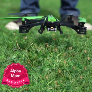 Sky Viper Video Drone: My kids were fighting over who got to try out this drone first. Even with our photo/video issues, this drone is a blast for the whole family. Great holiday gift for the whole family! Read our full review here.
