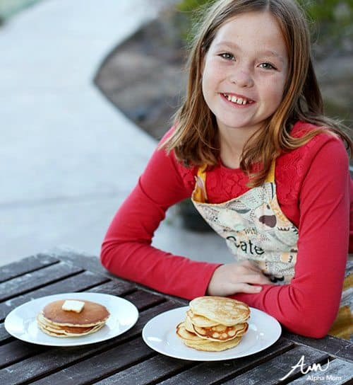 Pancakes From Scratch: Recipes Kids Should Know How to Cook Before Leaving Home by Jane Maynard for Alphamom.com (final product)