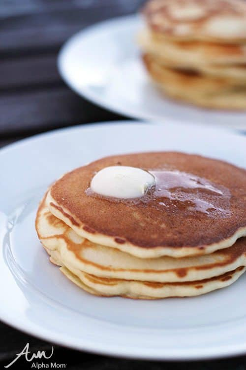 Pancakes made from Scratch: Recipes Kids Should Know How to Cook Before Leaving Home by Jane Maynard for Alphamom.com