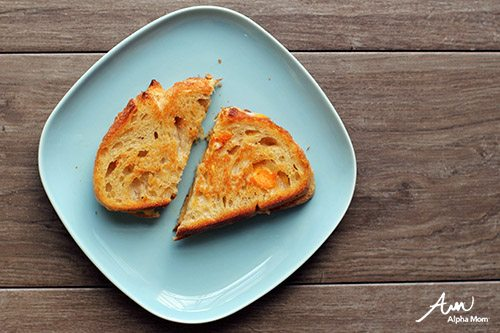 Grilled Cheese (Recipes Kids Should Know How To Cook Before Leaving Home) by Jane Maynard for Alphamom.com