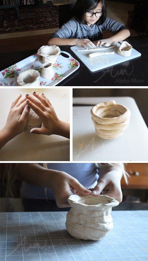 Making Pongal Pots for Pongal Harvest Festival (tutorial) by Brenda Ponnay for Alphamom.com