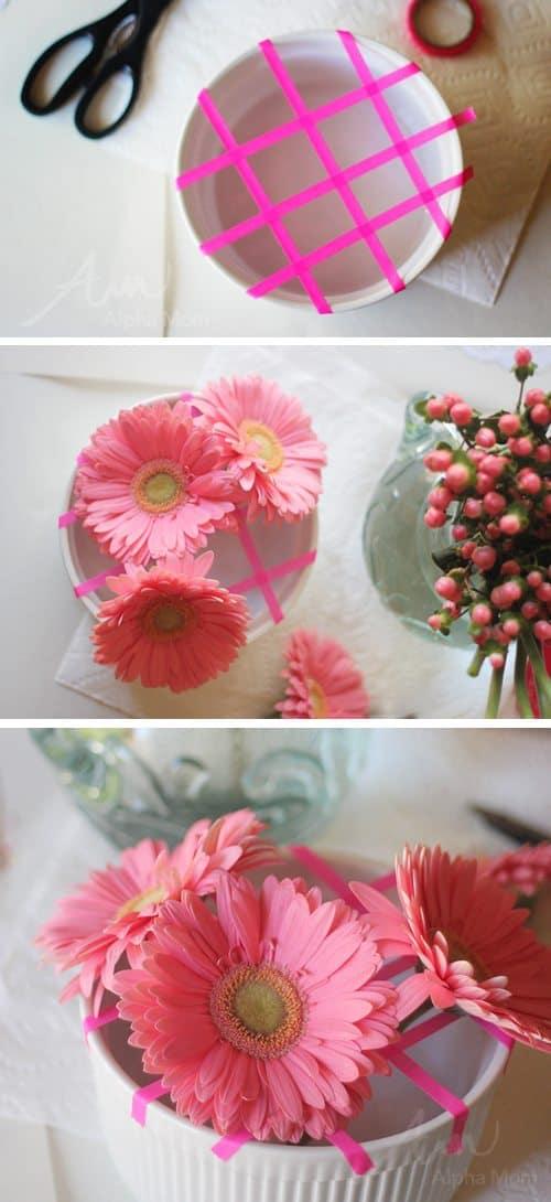 Valentine Crafting: a Tween Girl Bonding Experience (flower arranging) by Brenda Ponnay by Alphamom.com
