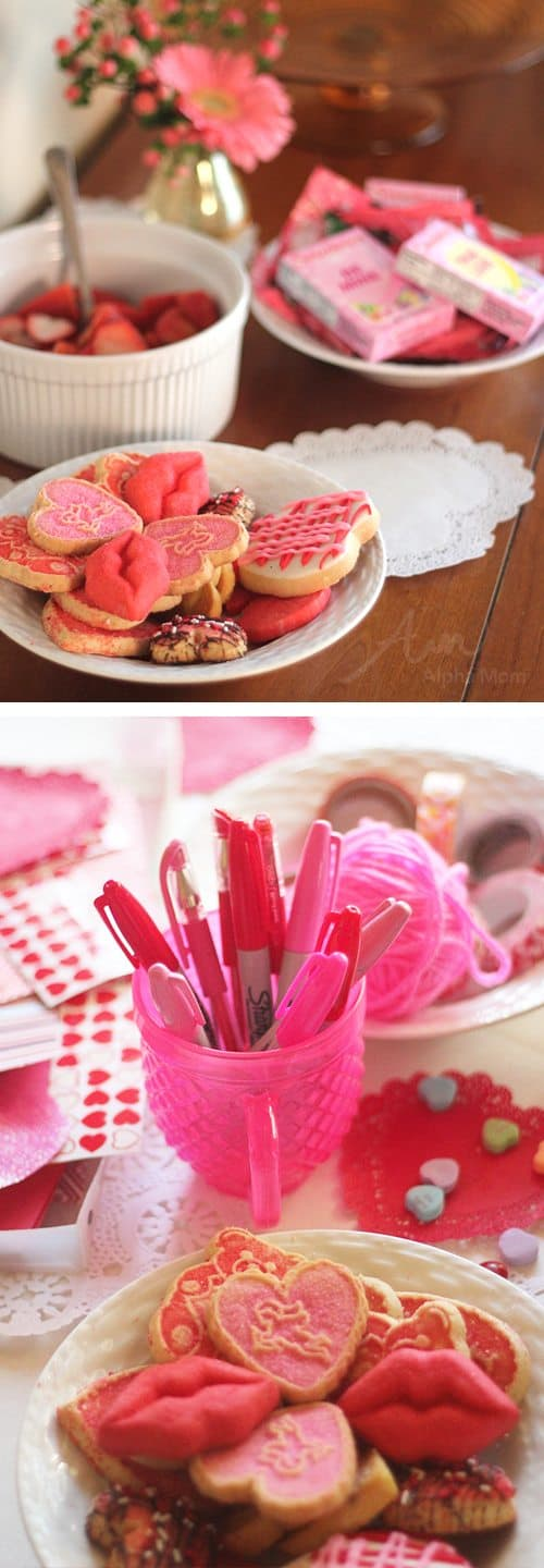 Valentine Crafting: a Tween Girl Bonding Experience (party snacks) by Brenda Ponnay by Alphamom.com