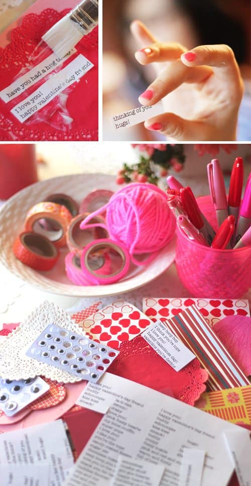 Valentine Crafting: a Tween Girl Bonding Experience (word prompts) by Brenda Ponnay by Alphamom.com
