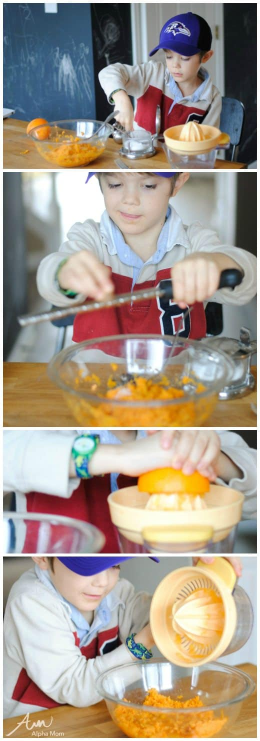 Citrus Sweet Potato Mash & Tater Tots Recipes (kid cooking prep) by Amalah for Alphamom.com