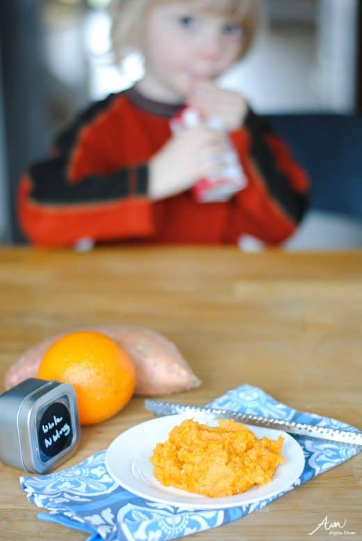Citrus Sweet Potato Mash Recipe by Amalah for Alphamom.com