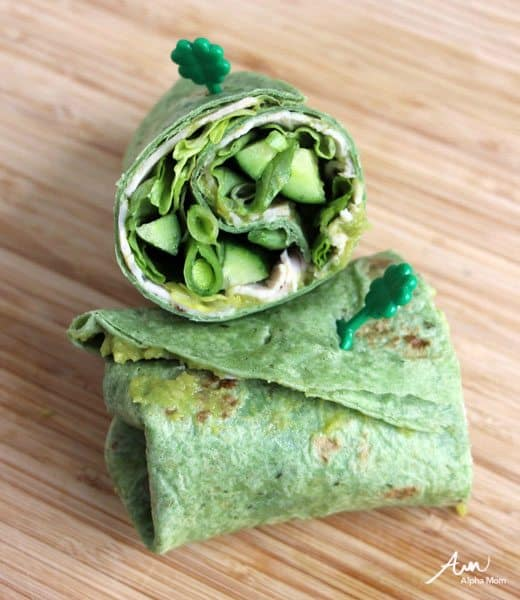 A Not-Too-Cutesy St. Patrick's Day Lunch for Bigger Kids (sandwich) by Wendy Copley for Alphamom.com