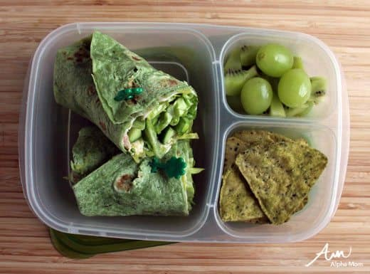A Not-Too-Cutesy St. Patrick's Day Lunch for Bigger Kids by Wendy Copley for Alphamom.com