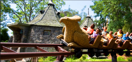 What to Expect at The Wizarding World of Harry Potter: FLIGHT OF HIPPOGRIFF ride at Hogsmeade